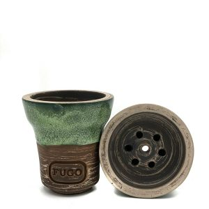 Clay hookah bowl FUGO Glazed TARHUN