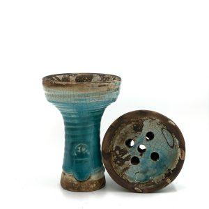 Clay hookah bowl Vintage Evil