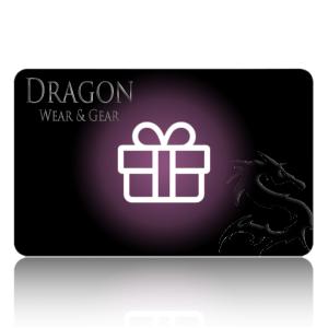 Dragon wear and gear gift card
